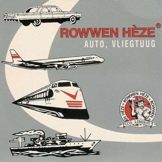 Coverafbeelding Auto, Vliegtuug - Rowwen H�ze