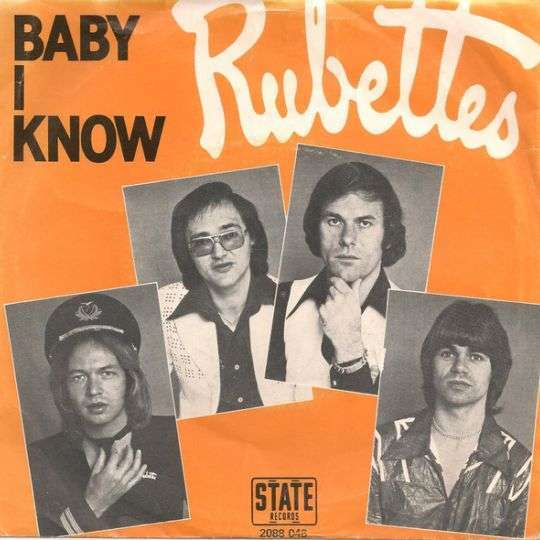 Coverafbeelding Baby I Know - Rubettes