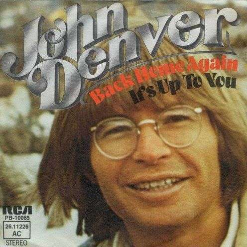 Coverafbeelding Back Home Again - John Denver