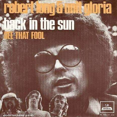 Coverafbeelding Robert Long & Unit Gloria - Back In The Sun