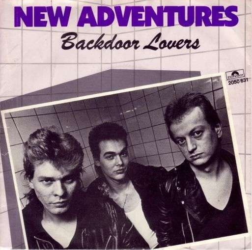 Coverafbeelding Backdoor Lovers - New Adventures