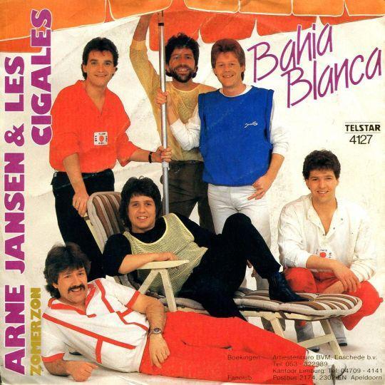 Coverafbeelding Bahia Blanca - Arne Jansen & Les Cigales
