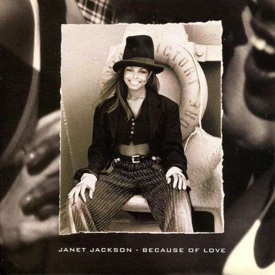 Coverafbeelding Because Of Love - Janet Jackson