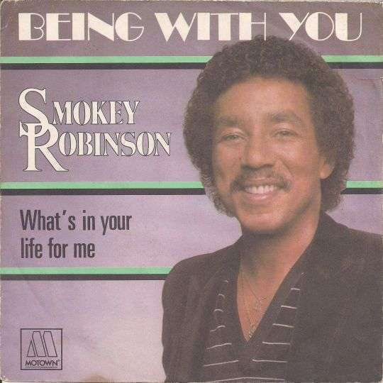 Coverafbeelding Being With You - Smokey Robinson