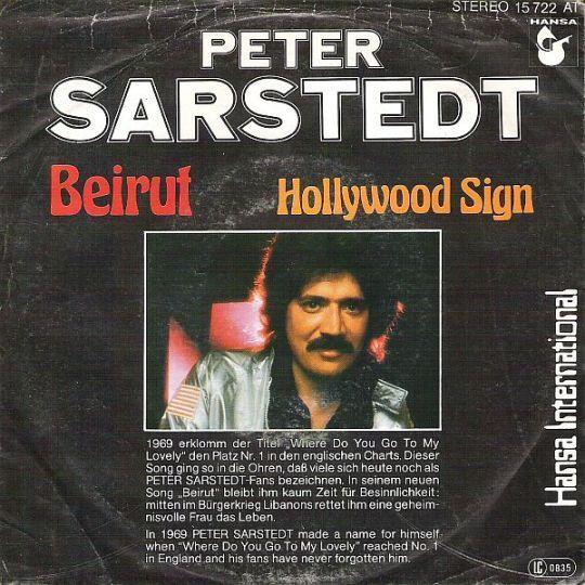 Coverafbeelding Peter Sarstedt - Beirut