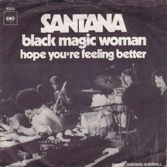 Coverafbeelding Black Magic Woman - Santana