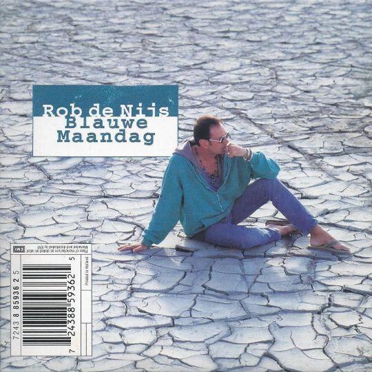 Coverafbeelding Blauwe Maandag - Rob De Nijs