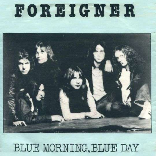 Coverafbeelding Blue Morning, Blue Day - Foreigner
