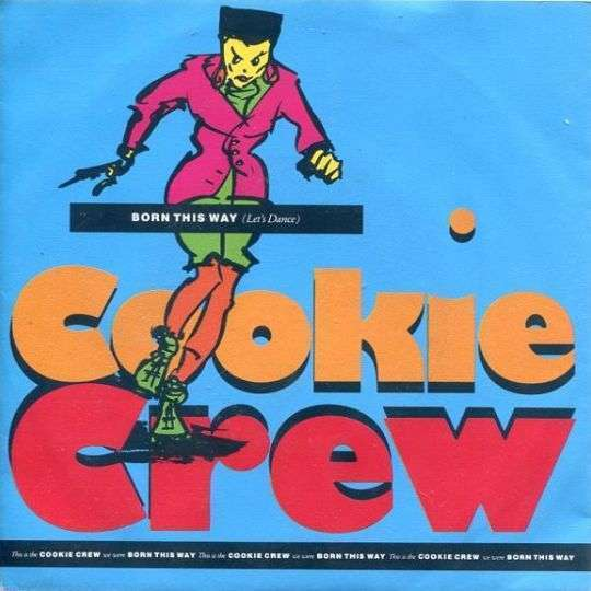 Coverafbeelding Born This Way (Let's Dance) - Cookie Crew