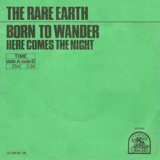 Coverafbeelding Born To Wander - The Rare Earth