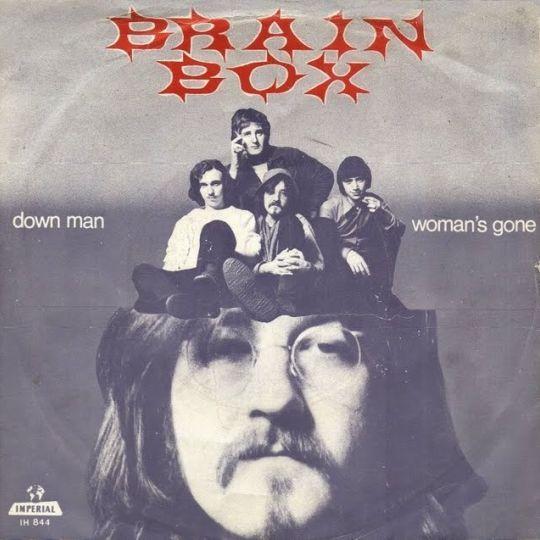 Coverafbeelding Down Man - Brainbox