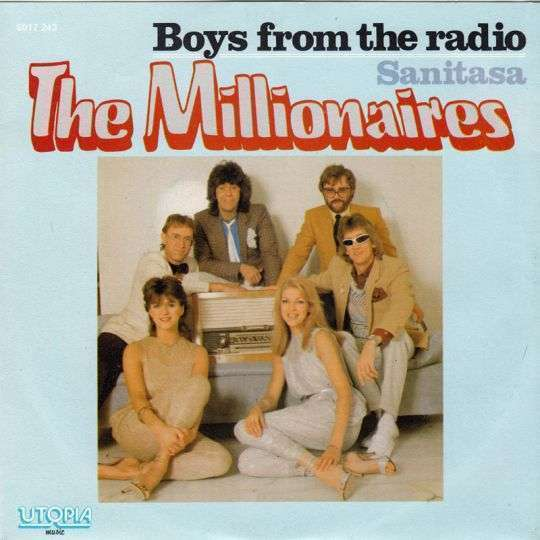 Coverafbeelding Boys From The Radio - The Millionaires