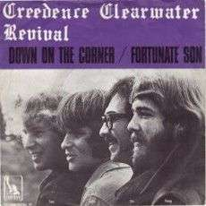 Coverafbeelding Down On The Corner - Creedence Clearwater Revival