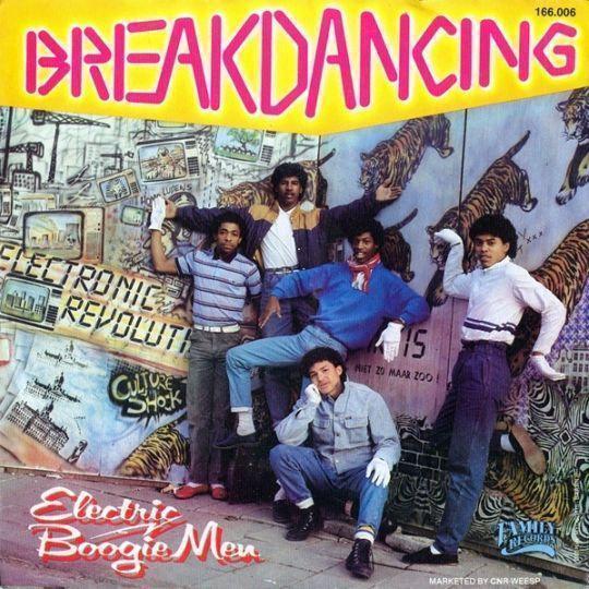 Coverafbeelding Electric Boogie Men - Breakdancing
