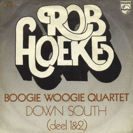 Coverafbeelding Down South - Rob Hoeke Boogie Woogie Quartet