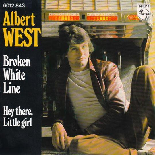 Coverafbeelding Albert West - Broken White Line