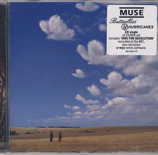 Coverafbeelding Butterflies & Hurricanes - Muse