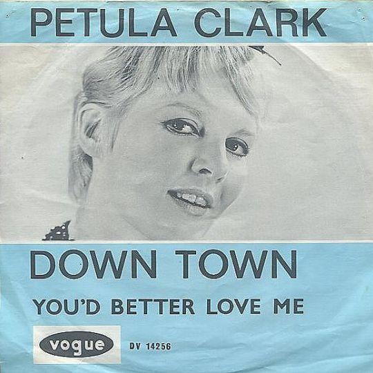 Coverafbeelding Down Town - Petula Clark