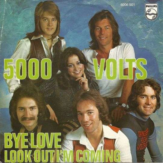 Coverafbeelding Bye Love - 5000 Volts
