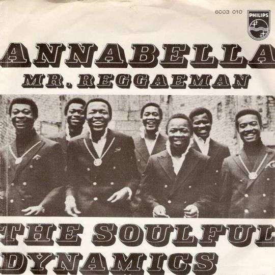 Coverafbeelding Annabella - The Soulful Dynamics