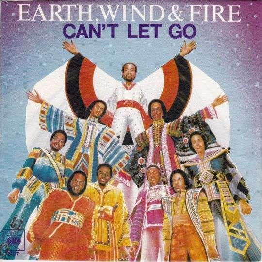 Coverafbeelding Can't Let Go - Earth, Wind & Fire