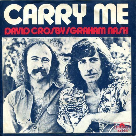 Coverafbeelding Carry Me - David Crosby/graham Nash