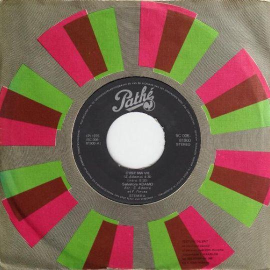 Coverafbeelding C'est Ma Vie - Salvatore Adamo