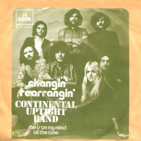 Coverafbeelding Changin' Rearrangin' - Continental Uptight Band