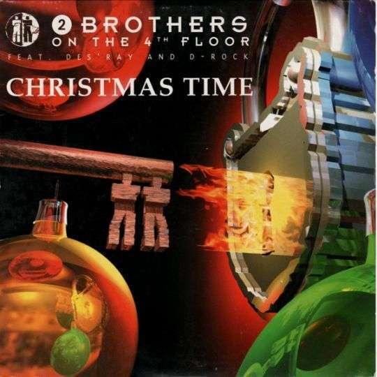 Coverafbeelding Christmas Time - 2 Brothers On The 4Th Floor Feat. Des'ray And D-Rock