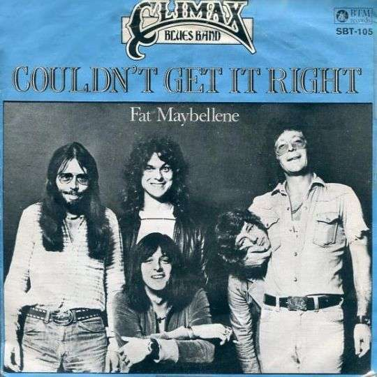 Coverafbeelding Couldn't Get It Right - Climax Blues Band