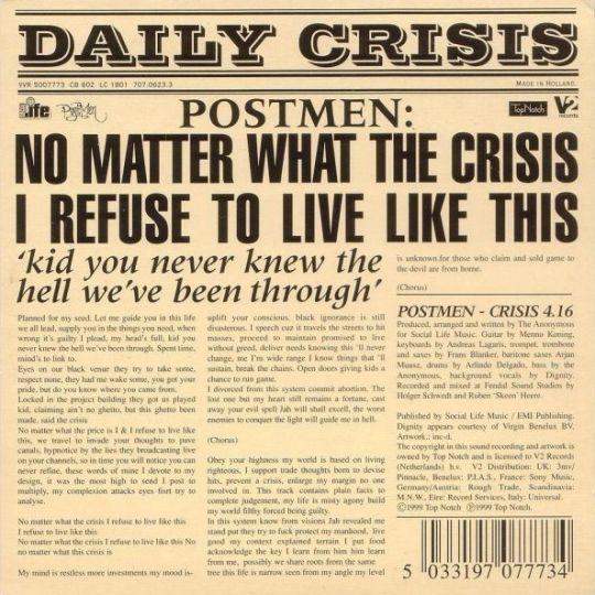 Coverafbeelding Crisis - Postmen