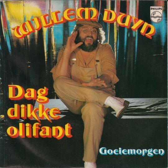 Coverafbeelding Dag Dikke Olifant - Willem Duyn