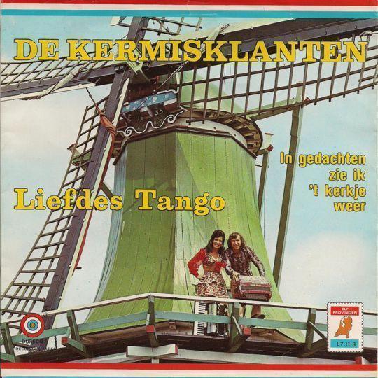 Coverafbeelding Liefdes Tango - De Kermisklanten
