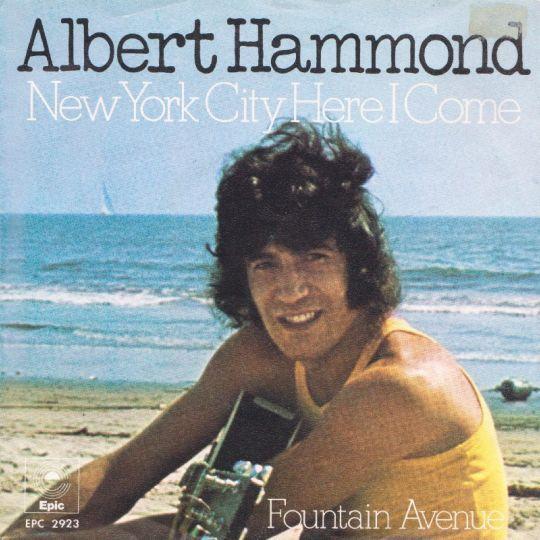 Coverafbeelding New York City Here I Come - Albert Hammond