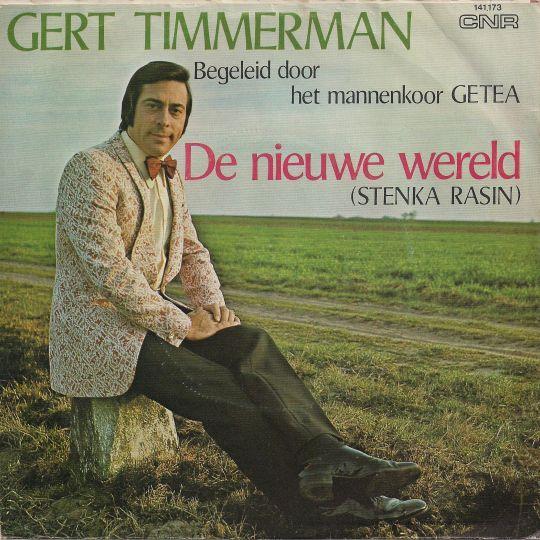 Coverafbeelding De Nieuwe Wereld (Stenka Rasin) - Gert Timmerman Begeleid Door Het Mannenkoor Getea