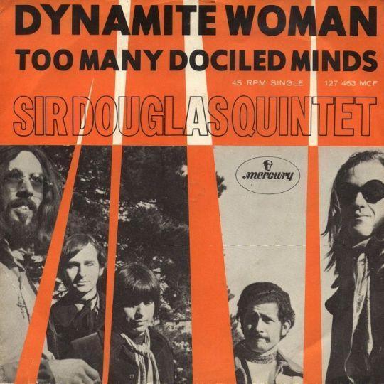 Coverafbeelding Dynamite Woman - Sir Douglas Quintet