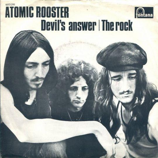 Coverafbeelding Atomic Rooster - Devil's Answer