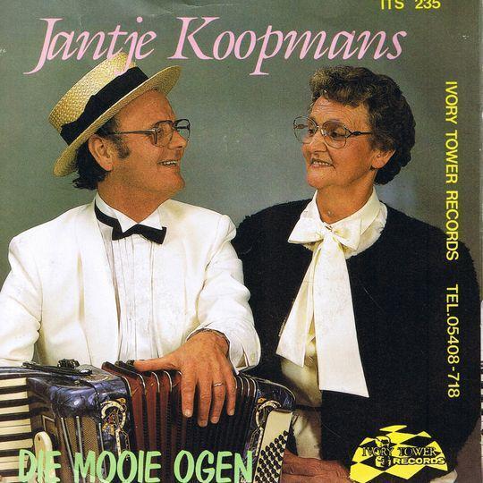 Coverafbeelding Die Mooie Ogen - Jantje Koopmans