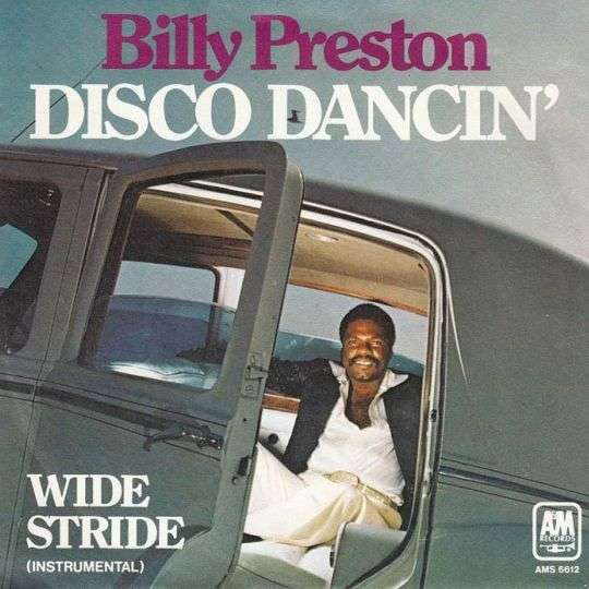 Coverafbeelding Disco Dancin' - Billy Preston