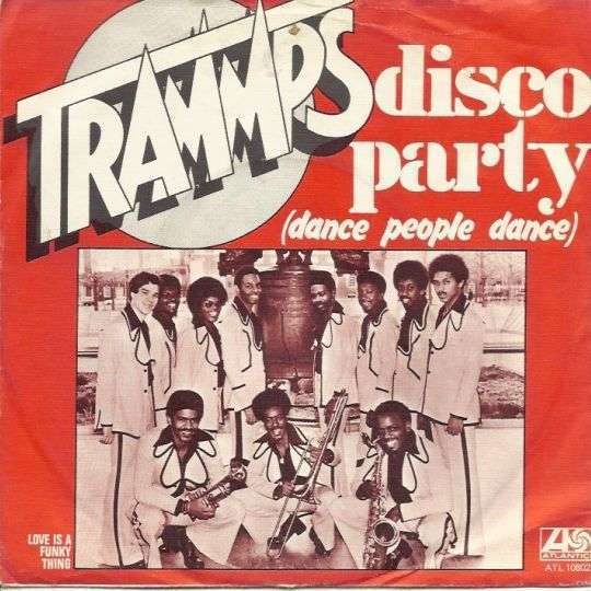 Coverafbeelding Disco Party (Dance People Dance) - Trammps