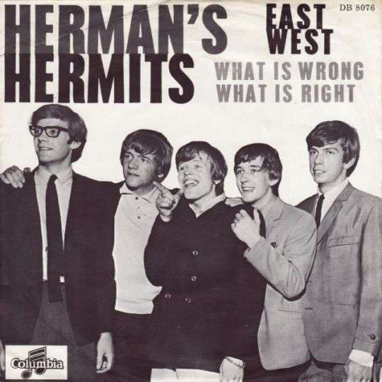 Coverafbeelding Herman's Hermits - East West