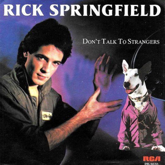 Coverafbeelding Don't Talk To Strangers - Rick Springfield
