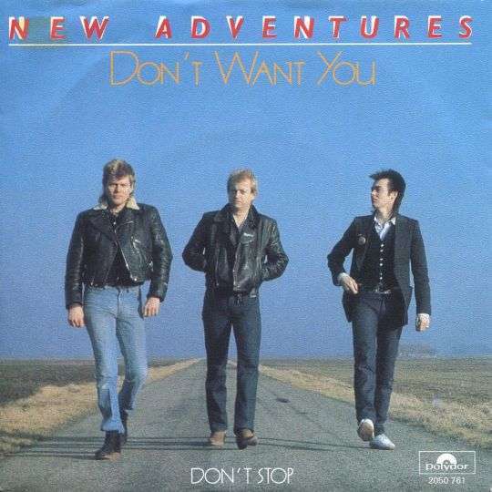 Coverafbeelding Don't Want You - New Adventures