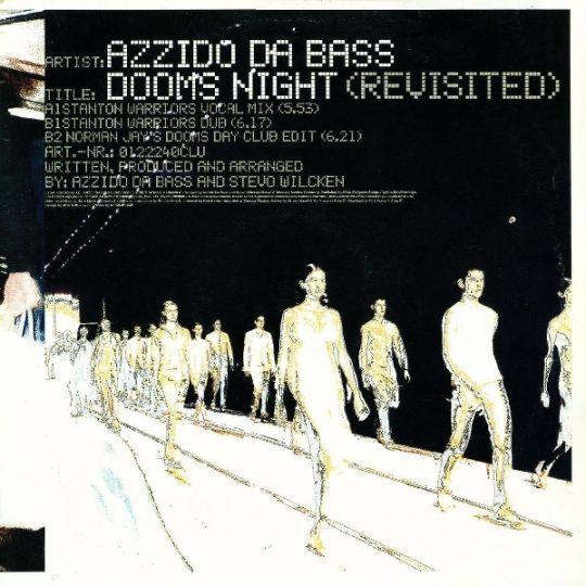 Coverafbeelding Azzido Da Bass - Dooms Night (Revisited)