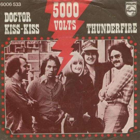 Coverafbeelding Doctor Kiss-kiss - 5000 Volts