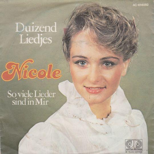 Coverafbeelding Duizend Liedjes - Nicole