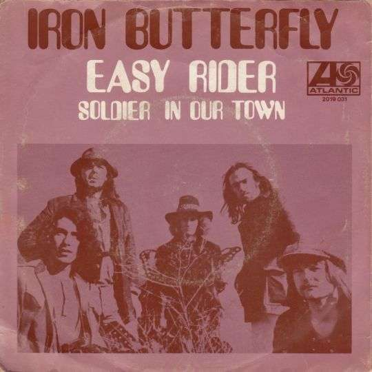 Coverafbeelding Easy Rider - Iron Butterfly