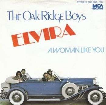 Coverafbeelding The Oak Ridge Boys - Elvira