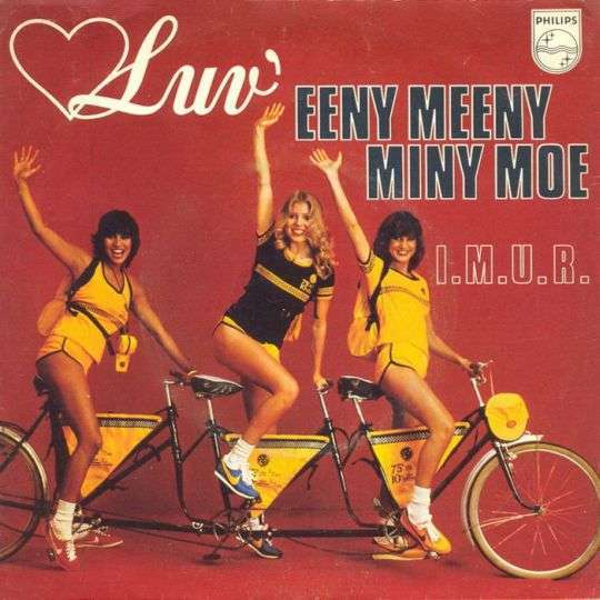 Coverafbeelding Eeny Meeny Miny Moe - Luv'