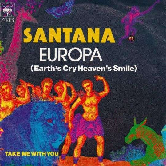 Coverafbeelding Europa (Earth's Cry Heaven's Smile) - Santana